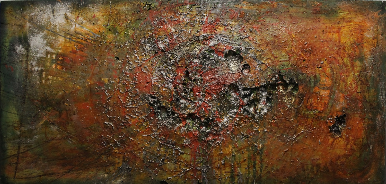 Mantovani fabrizio artista pittore scultore - genova